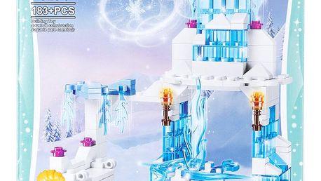 MG Stavebnice Princess Elsa a její kouzelný ledový palác - 183 ks