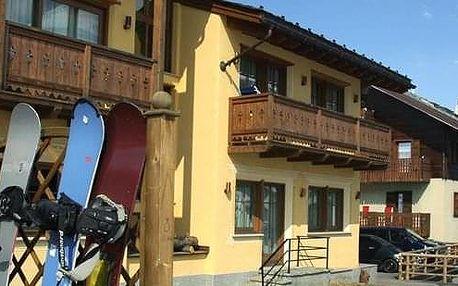 Itálie - Livigno na 8 dní, polopenze, Livigno