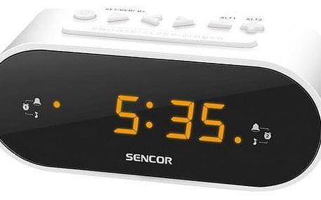 Radiobudík Sencor SRC 1100 W bílý (35048701)