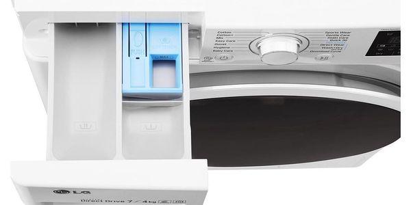 Automatická pračka se sušičkou LG F2J6HM0W + DOPRAVA ZDARMA3