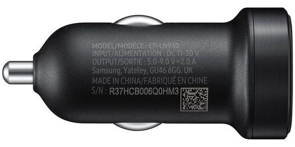 Adaptér do auta Samsung EP-LN930C, 1x USB, 2A, s funkcí rychlonabíjení + USB-C kabel (EP-LN930CBEGWW) černý3