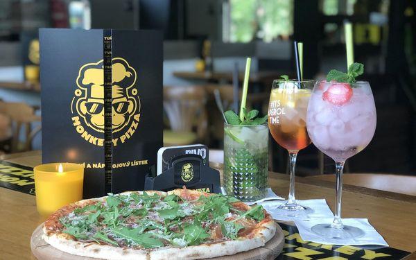 2x pizza z kategorie 169-179 Kč (ø 32 cm) a láhev vína podle výběru (0,7 l)3