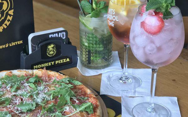 2x pizza z kategorie 169-179 Kč (ø 32 cm) a láhev vína podle výběru (0,7 l)4