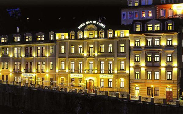 Léto i podzim v hotelu Jean de Carro**** v Karlových Varech s wellness a polopenzí