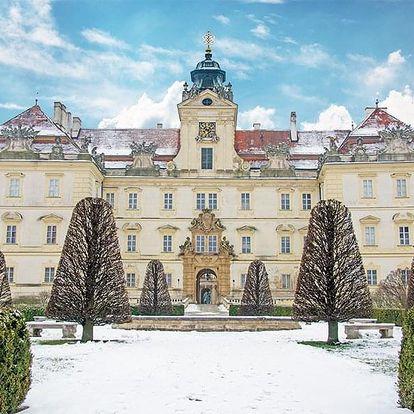 Jižní Morava v penzionu kousek od zámku Valtice se snídaní a vínem