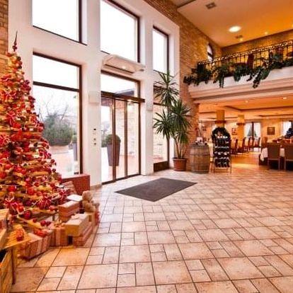 Vánoce v Budapešti v Hotelu Stáció **** s neomezeným wellness a polopenzí