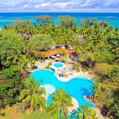 Keňa - Diani Beach letecky na 10 dnů, all inclusive