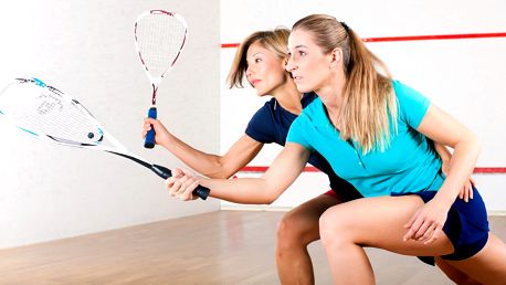 Hodina squashe na Smíchově v týdnu i o víkendu