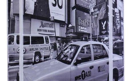 Emako Textilní skříň na oblečení s moderním designem, 160x88x50 cm