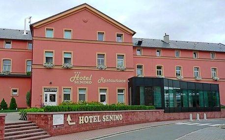 Olomouc v Hotelu Senimo *** se snídaní a regionální kartou s mnoha výhodami