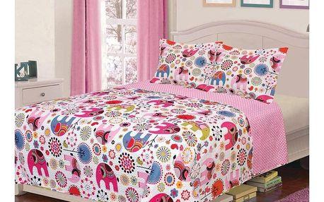 Domarex Dětský přehoz na postel ELEPHANT, 150 x 200 cm