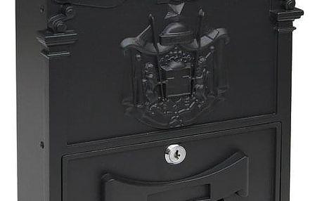 Poštovní schránka RICHTER BK301 Černá prášková