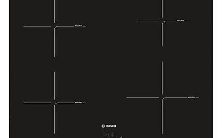 Indukční varná deska Bosch PUE611BB1E černá