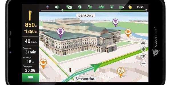 Navigační systém GPS Navitel T757 LTE, tablet černá + DOPRAVA ZDARMA3
