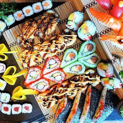 Sushi sety v centru Brna vč. smažených kousků