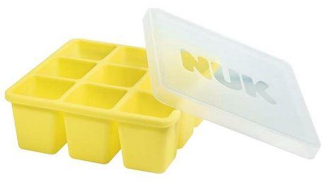Nuk Mrazící formička silikonová, žlutá