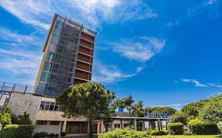 Chorvatsko, Umag | Hotel Adriatic** | Polopenze | Dítě do 13 let zdarma | Pláž do 50 m