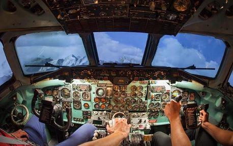 Simulátor letadla Douglas DC-9