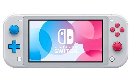 Herní konzole Nintendo Switch Lite Zacian & Zamazenta Edition (NSH115)