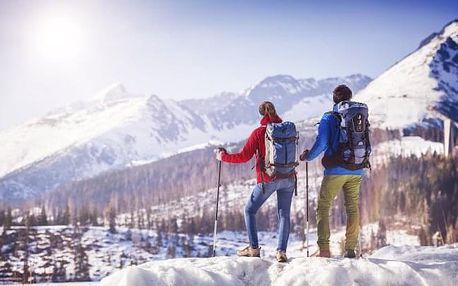 Vysoké Tatry blízko skiareálů v Penzionu Crystal s polopenzí a zapůjčením lyží
