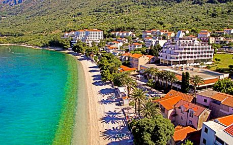 Chorvatsko, Gradac | Hotel Laguna** | Polopenze | Dítě do 11 let zdarma | Pláž do 50 m
