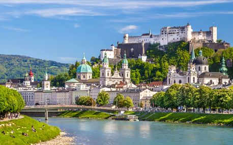 Orlí hnízdo, jezero Königsee, Solné doly, Salzburg
