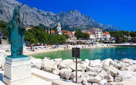 Chorvatsko, Baška Voda | Villa Juroš*** | Vhodné pro mladší ročníky | Polopenze