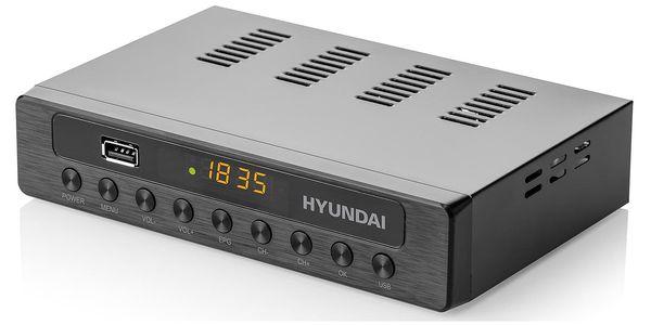Set-top box Hyundai DVBT 250 PVR černý4