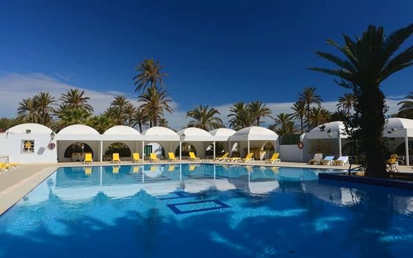 SANGHO CLUB ZARZIS, Djerba, letecky, all inclusive
