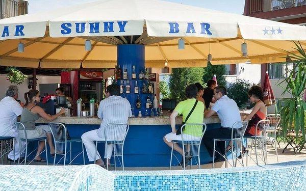 SUNNY HOTEL, Burgas, letecky, plná penze2