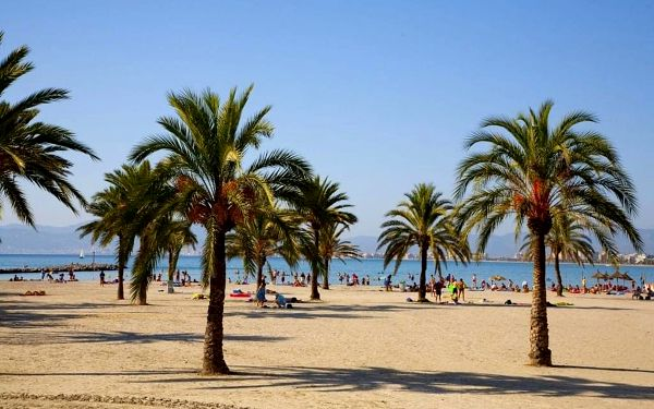 WHALA!BEACH, Mallorca, letecky, all inclusive3