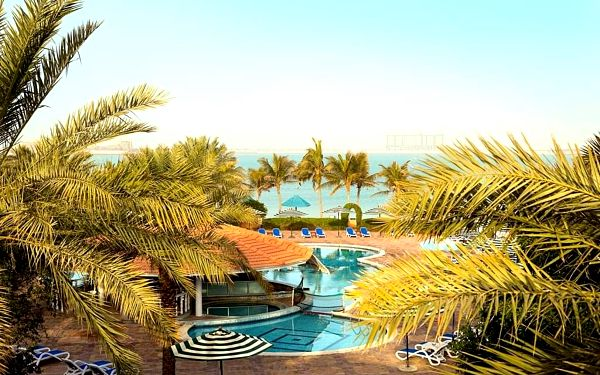 BM BEACH RESORT, Ras Al Khaimah, letecky, all inclusive