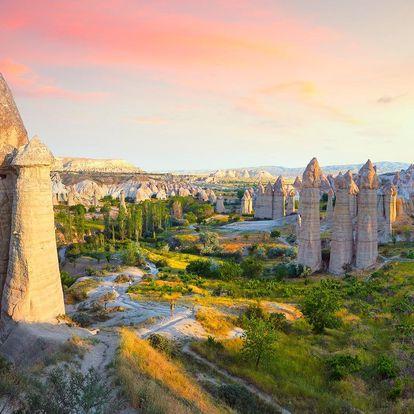 Turecko - Antalya letecky na 8-15 dnů, polopenze