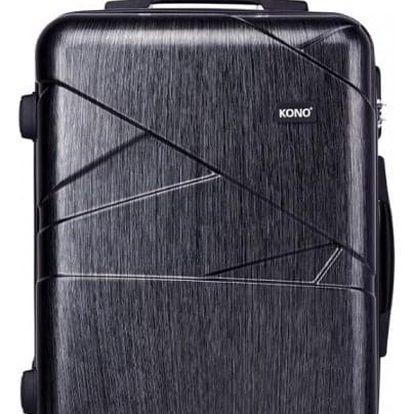Cestovní kabinový šedý kufr Rotta 1772L