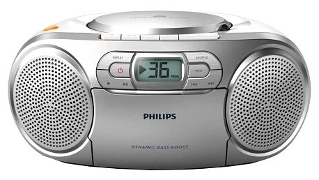 Radiomagnetofon s CD Philips AZ127