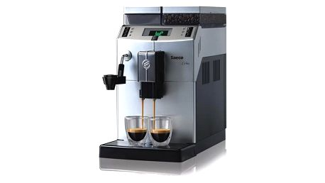 Espresso Saeco Lirika Plus stříbrné