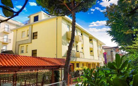 Itálie, Rimini | Hotel Vannucci*** | Dítě do 7 let zdarma | Light all inclusive | Bazén, parkování a plážový servis zdarma