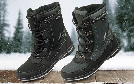 Dámské zimní kotníkové boty Loap: šedá nebo černá