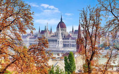 Centrum Budapešti z City Hotelu Unio***