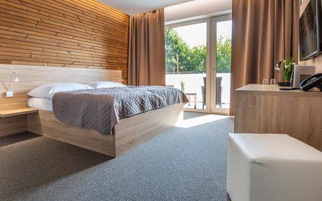 Relax v termálech Malé Bielice v novém hotelu s polopenzí či plnou penzí