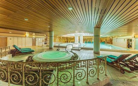 Budapešť u centra v The Aquincum Hotelu Budapest **** s termálními bazény a snídaní + dítě do 12 let zdarma