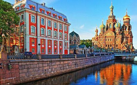 Letecky za perlami severu - Petrohrad a Helsinky
