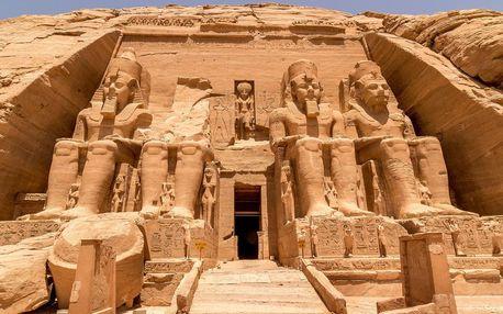 Egypt - Hurghada (oblast) letecky na 8-15 dnů, strava dle programu