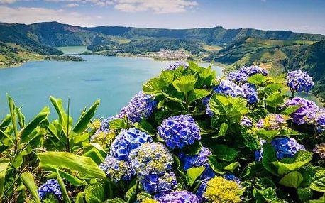 Přírodní krásy Azorských ostrovů