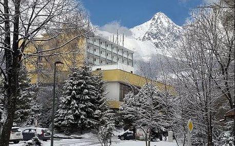 Zimní pobyt v centru Tatranské Lomnice v hotelu SOREA Uran s krásným novým wellness a bazénem