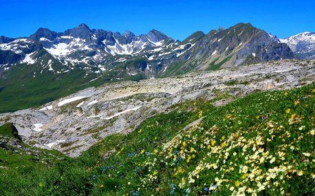 Lechtalské Alpy a skupina Silvretta, Tyrolsko