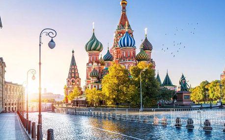 Moskva - víkend v největším městě Ruska
