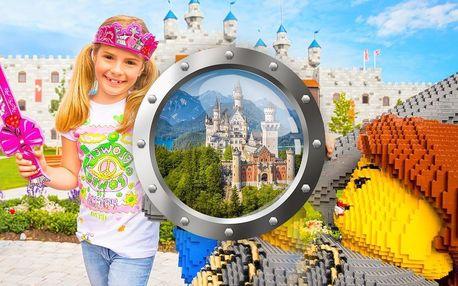 Legoland a pohádkový zámek Neuschwanstein | 1 noc se snídaní | 2denní poznávací zájezd do Německa