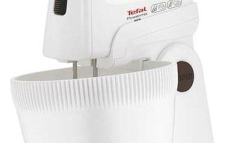 Ruční šlehač s mísou Tefal POWERMIX Powermix Met Mengkom HT615138 bílý