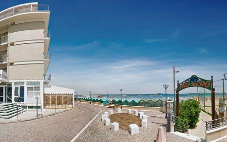 Itálie, Marche | Hotel President*** přímo na pláži | Děti zdarma | Polopenze s nápoji